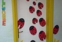 Sınıf kapı süslemeleri