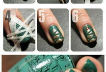 Nail art e make-up