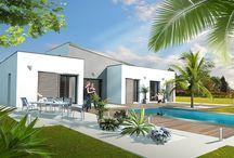 perspective maison individuelles / 3D architecture