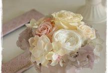 【結婚祝のお花】プリザーブドフラワー / Flower noteのプリザーブドフラワー。  結婚祝いのアレンジギャラリーです