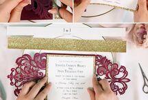 Elegant wedding invitation ideas