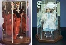 Elegant Doll Displays