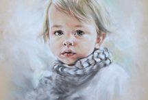 Inspiratie / Pastelportretten