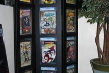 Comic displays