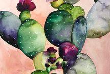 • watercolor