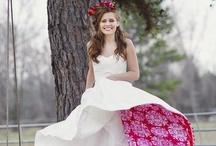 Suknie ślubne w ¡los colores! / A może suknia ślubna w kolorze...?