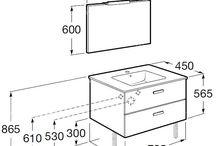Medidas de Muebles de baño