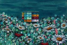 My work / Megan Collier Art