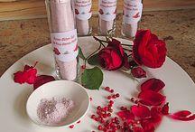 Reagenzglas Zucker Salz