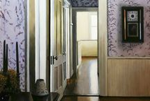 paintings of room interiors / I will be posting images of some of my oil paintings