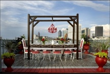 Rooftop Patio Ideas / by Claire Johnstone