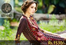 Embroidered Shirts / Bashir Ahmad Single Embroidered Shirts Available at Khas Stores