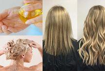 Faire pousser les cheveux / des recettes de gand-mère pour faire pousser les cheveux naturellement