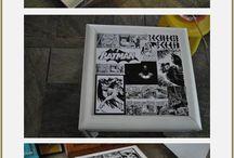 Batman themed bathroom