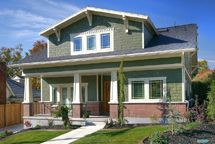 Bungalow Love / My most recent favorite style of home, the Craftsman Bungalow. I think it reminds me of my grandparent's homes and...I want a deep, shady front porch! / by Marianne Loose