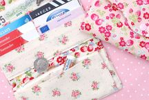Purse Wallet and Bag Patterns and Tutorials / by Covered By Design (Christine Hansen)