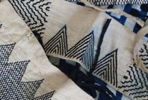 Embroidery / stitching / blackwork