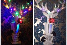 Handmade Christmas / Handmade personalised Christmas decorations.