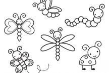 škôlka hmyz
