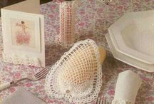 Crochet: décoration de la table