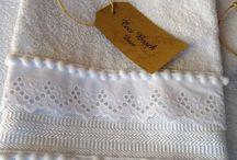 bordes y terminaciones para toallas
