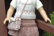 Nuken vaatteet - doll clothes / Kuvia ja kaavoja