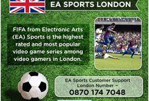 EA Sports London / EA Sports Customer Support London Number – 0870 174 7048
