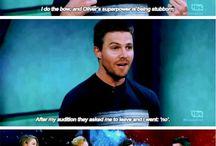 Arrow and Flash cast