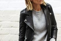 The leather jacket / The perfect leather jacket outfits