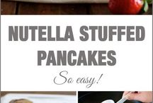 Recipes ~ Nutella Love / Recipes using Nutell, which I love!