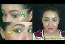 Sports Team Inspired Makeup