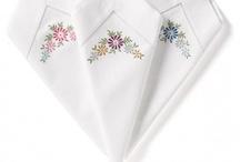 Embroidered nepkin