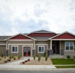 The Mandalay by Aspen View and Horizon View Homes / The Mandalay is a 3756 square foot ranch style home with 5 bedrooms, 3.5 baths, and a 3-car garage.  Personalize this home with optional outdoor living spaces or an optional master bath with walk-in shower and storage in lieu of tub and shower.