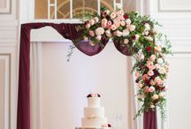Wedding Cakes / Inspiration and cake tables designed by Edge Design Group