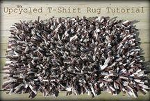 rag rugs / by Lizzie L