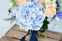 Matrimonio: Azzurro Ortensia - Hydrangea Blue Wedding / Matrimonio dalla palette e tema azzurro Ortensia. Wedding with theme and palette Hydrangea blue.
