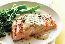 salmon recipes / by Valerie Starr