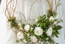 Wreath bouquet / eternity, permanence,forever love &good luck