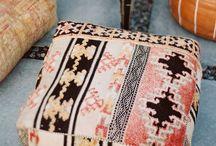 Decorative throws/cushions