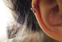 Ear piercings / by Desirae Trejo