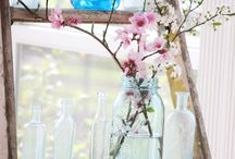 Sunny spring summer decor