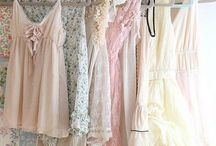 romantic wear / Lovely vintage & new items for that romantic look