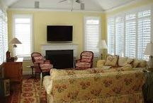 Shutters / Shutters or Plantation Blinds look fabulous on any window! Whether you want a modern look, warm and cozy feel or a light beachy decor Shutters are always classic and in style.