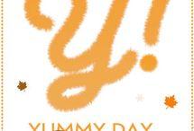 Yummy Day Doudou / Rdv le 4 novembre pour des recettes réconfortante… Par leurs parfums, leur chaleur, leur gourmandise... Sucrées ou salées, Les recettes seront Doudou !