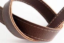 Soft Dark Brown Leather Straps