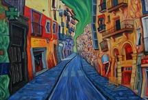 Painting Barcelona