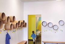 Preschool interior room design / Preschool stuff
