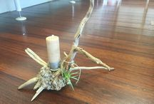 Living Driftwood Candles - By Ember / Where Raw Materials come together and support new life.