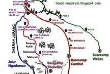 Jalur Pendakian Merbabu