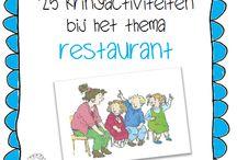 Onderwijs: thema restaurant